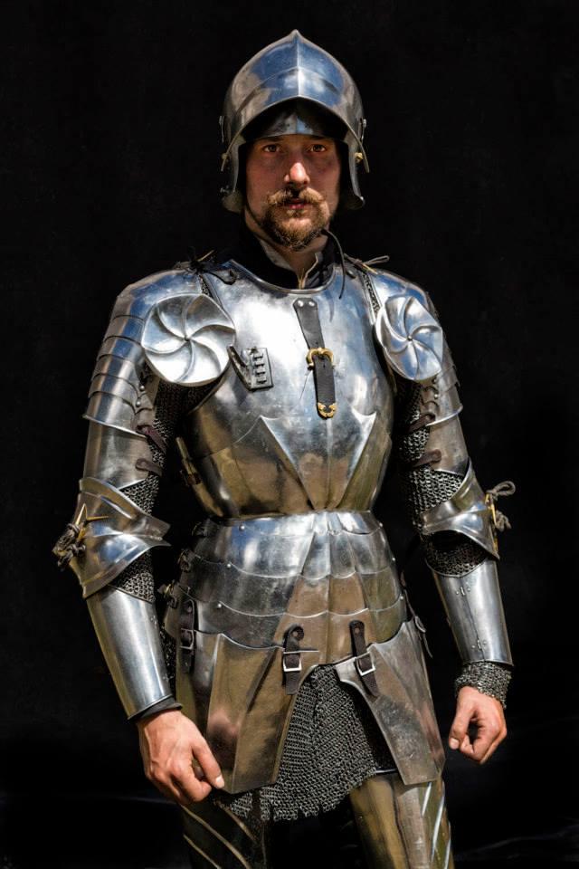 Arne Koets als Ritter